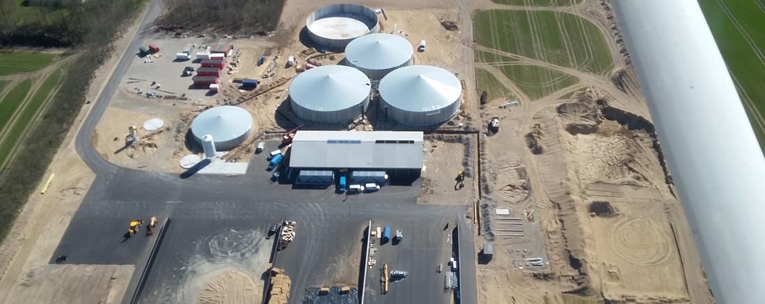 Biogasanlæg, Sindal