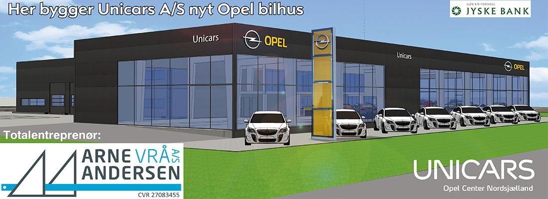 UniCars - Opel bilhus i Hillerød